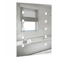 Battery Operated Illuminated LED Bathroom Mirror Wall Light IP44 - MINISUN