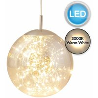 Nero - Smoked Glass LED Pendant