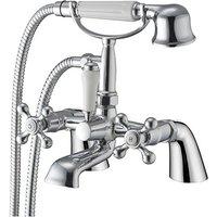 Classic Bath Shower Mixer with shower kit - Chrome - Modern Living