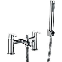 Modern Living - Favour Bath Shower Mixer with shower kit and wall bracket - Chrome