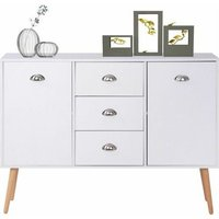 Modern Sideboard Cupboard with 3 Drawers 2 Doors? Storage Cabinet for living room and hallway