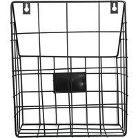 Modern Wire Magazine Journal Basket Basket Mail Storage Rack Organizer