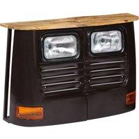 Monson Truck Solid Mango Wood Sideboard by Williston Forge - Grey