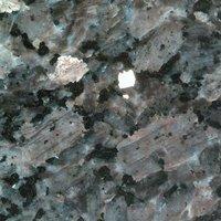 Netfurniture - Monsoon Round kitchen dining table Granite, Terrazzo, Marble or Quartz tops - cast iron base Blue Pearl - Granite 80cm diameter top