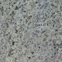 Monsoon Round Table Granite, Terrazzo, Marble Or Quartz Tops - Cast Iron Base Kashmir White - Granite 80cm diameter top