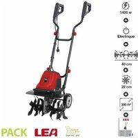 Motobineuse électrique 1400W fraisage 40cm LE40140-40W - LEA