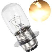 Motorcycle Headlight Projector Headlight Bulb 12V 25 / 25W T19 P15D-25-1