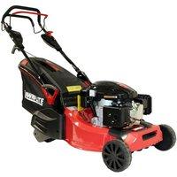 Rotary 48cm Petrol Lawn Mower Self Propelled Rear Roller Loncin Engine - Lawnflite