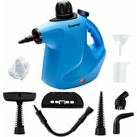 Multi-Purpose Handheld Portable Electric Steam Cleaner with 9 Accessories