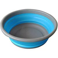 Multifunction Collapsible Round Dish Bowl for Travel, Camping, Hiking