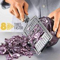 Multifunction Stainless Steel Vegetable Cutter - Manual 3-in-1 Vegetable Cutter / Shredder - Kitchen Utensils