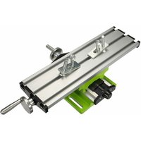 Multifunctional Milling Machine Bench Drill Vise Fixture Adjustment Worktable LAVENTE - Argent