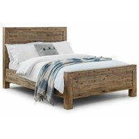 4ft6 Double 135 x 190 Rustic Oak Bed Frame - Myrtie