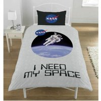 I Need My Space Single Duvet Set (One Size) (Multicoloured) - Nasa