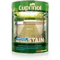 Cuprinol Anti Slip Decking Stain - Natural - 5 Litre