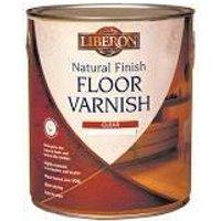 Natural Finish Floor Varnish Clear Satin 2,5 Litre (LIBFVWNCS25L) - LIBERON