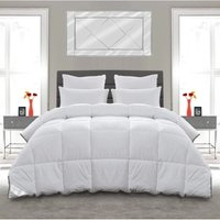 Naturally shredded duck feather and down duvet - Double - GROUNDLEVEL