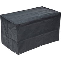Garden Outdoor Cover for BBQ 120x75x80cm - Grey - Nature