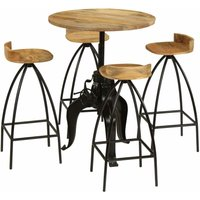 Neely Dining Set with 4 Chairs by Brown - Borough Wharf