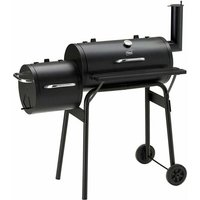 Neo Large Charcoal Barrel Smoker Barbecue BBQ