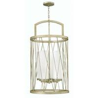 Elstead Nest - 4 Light Ceiling Pendant Chandelier Silver Lea