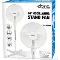 Dp - New 16 Oscillating Pedestal Stand Fan Cooling Air 3 Speed Home Office Silent