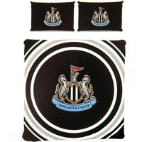 Pulse Duvet Cover Set (Double) (Black/White) - Newcastle United Fc