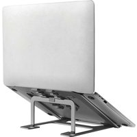 Foldable Laptop Stand 10-17 Grey - Grey - Newstar