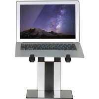 Foldable Laptop Stand 10-17 Silver and Black - Multicolour - Newstar
