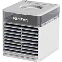 NEXFAN Air Cooler Portable 3 Wind Speed Aromatically Air Purification Air Conditioner Home Office USB Mini Desktop Air Condition Fan Humidifier Air