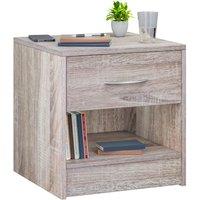 Night Stand Table Bedside Cabinet Bedroom Furniture Drawer Side Storage Home Oak