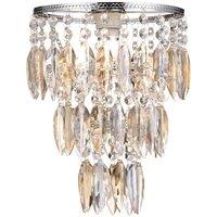 Nikki Champagne Easy Fit 1 Light Ceiling Pendant Lamp Shade