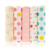Asupermall - Non-Adhesive Shelf Paper Beautiful Dot Pattern Drawer Storage Liner for Drawer Table Kitchen Cabinets Pantry (5 Rolls One Set) 12,model: