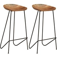 Odis 76cm Bar Stool by Williston Forge - Brown