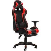 Office Chair Gaming Chair Ergonomic Game Reclining Red Hasaki