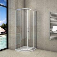 760x760x1900mm Quadrant Shower Enclosure Sliding Door - Aica