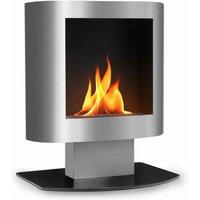 Phantasma Tower Ethanol Fireplace Safety Burner Extinguishing Aid Stainless Steel - Oneconcept