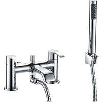 Orbit Alto Bath Shower Mixer Tap Pillar Mounted - Chrome