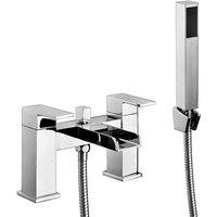 Neto Bath Shower Mixer Tap Pillar Mounted - Chrome - Orbit
