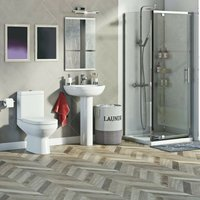 Balance complete pivot shower enclosure suite 1000 x 900 - Orchard