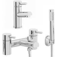 Eden basin and bath shower mixer tap pack - Orchard