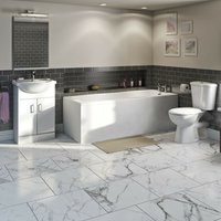 Eden furniture and straight bath suite - Orchard