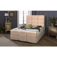 Oslo Clay Malia Single Bed Frame