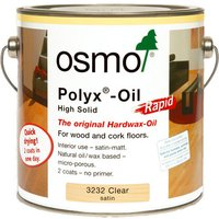 Rapid Polyx-Oil Clear Satin (3232) 2.5L - Osmo