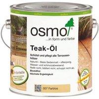007 Teak Öl Farblos 2,5 Ltr - Osmo