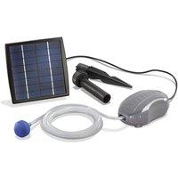 Esotec - Aeratore solare per stagno Air-S 1.5W. Pompa di aerazione 120l/h per stagno da giardino 101870