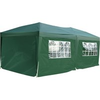 Outsunny 6 x 3m Garden Pop Up Gazebo Marquee w/ Storage Bag - Green