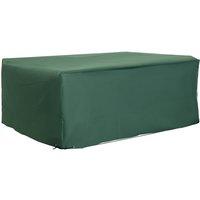 UV Rain Protective Rattan Furniture Cover for Wicker Rattan Garden 210x140x80cm - Outsunny