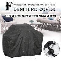 Oxford étanche jardin Patio Table couverture meubles de plein air abri Protection --- carré XL) 170 * 61 * 117cm XL (170x61x117cm)