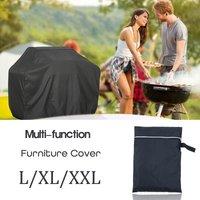 Oxford étanche jardin Patio Table couverture meubles de plein air abri Protection --- carré XXL) 190 * 71 * 117cm XXL (190x71x117cm)